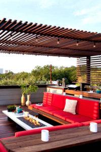 ديكور حدائق وتصاميم ديكورات خارجية و جلسات أسطح المنازل والفلل الأنيقة و حدائق المنزل ديكورات أرابيا