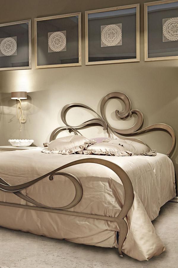 تصاميم غرف النوم الفورجيه الإيطالية من علامة Giusti Portos ديكورات