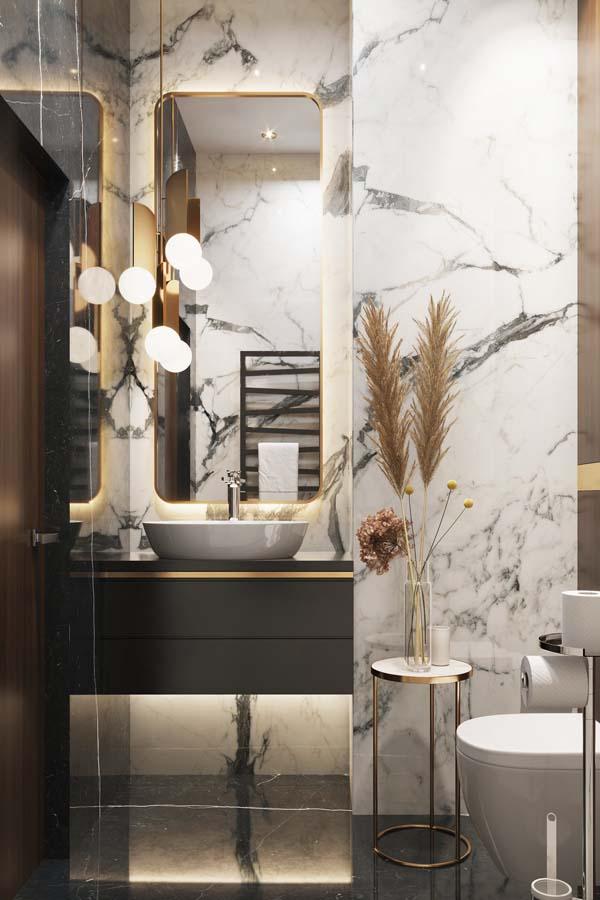 ديكور حمامات وتصاميم حمامات مودرن غاية في الفخامة ديكورات أرابيا