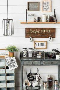 أجمل 20 تصميم لـ ركن القهوة كوفي كورنر وكوفي بار منزلي هذا العام ديكورات أرابيا